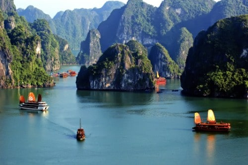 CAT BA NATIONAL PARK AND LAN HA BAY