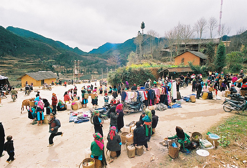 Sin Ho Sunday Market in Lai Chau